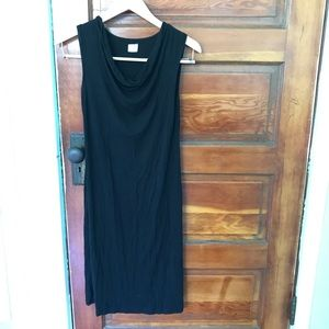 Gap black maternity dress